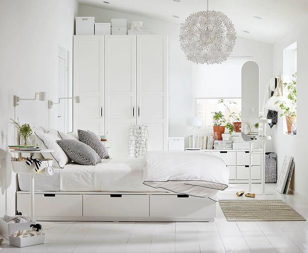 Sypialnia Ikea łóżka Do Sypialni Ikea