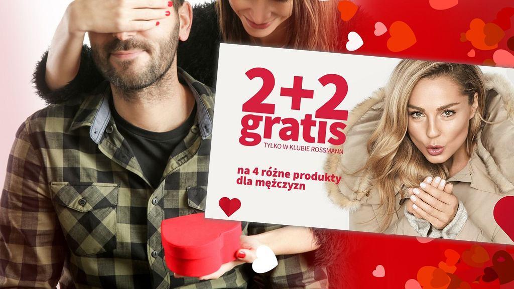 Rossmann 2+2 luty 2019 - tym razem promocja obejmuje produkty dla mężczyzn
