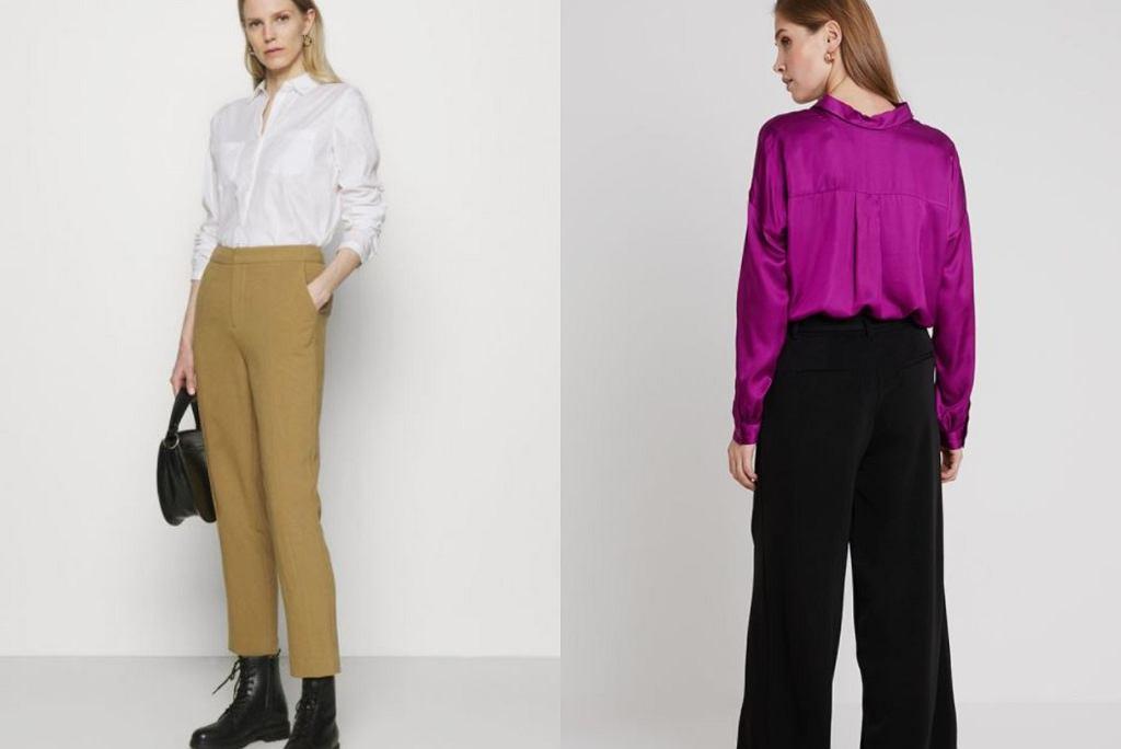 eleganckie spodnie do pracy
