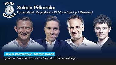Jakub Rzeźniczak i Marcin Gazda gośćmi Sekcji Piłkarskiej