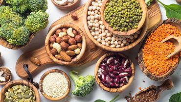 W diecie OXY jest duża ilość białka pochodzącego głównie z produktów roślinnych