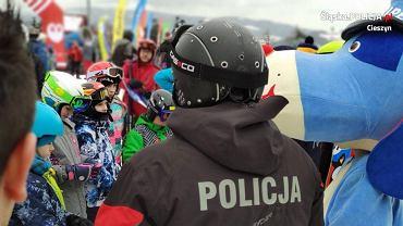 Policjanci wzięli udział w inauguracji sezonu narciarskiego w Wiśle