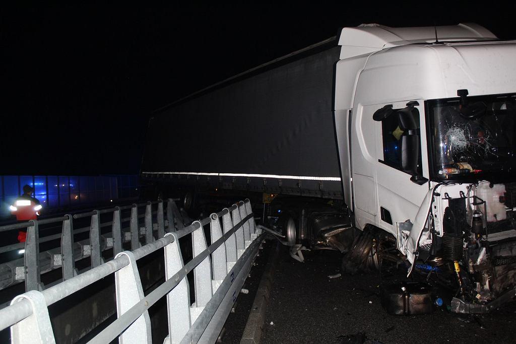 Włocławek. Tragedia na autostradzie A1. Nie żyje 66-latek