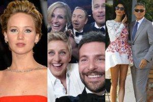 Jennifer Lawrence, Ellen DeGeneres i Bradley Cooper, Amal Alamuddin i George Clooney