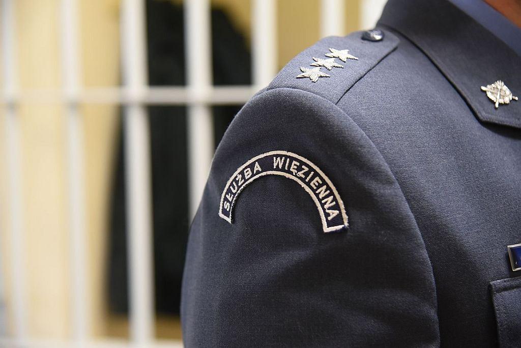Funkcjonariusze służby więziennej są nazywani 'Klawiszami' (fot. Cezary Piwowarski)