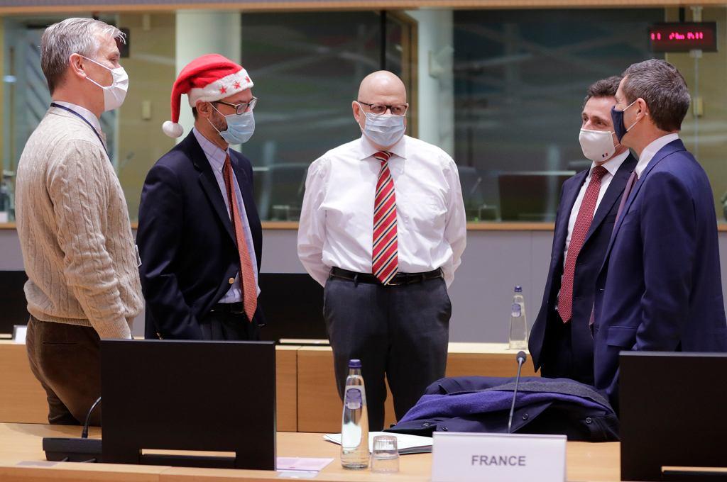 Brexit. Spotkanie ambasadorów państw UE, 25 grudnia 2020 r.