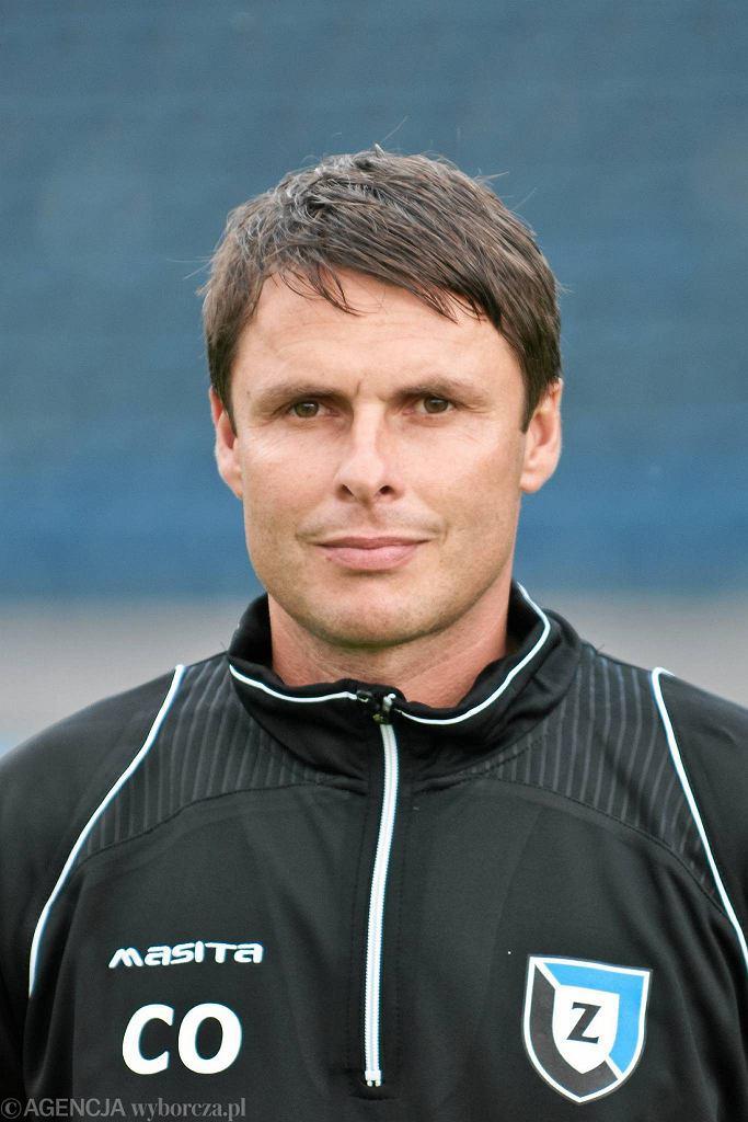Czesław Owczarek jako asystent trenera Zawiszy Bydgoszcz