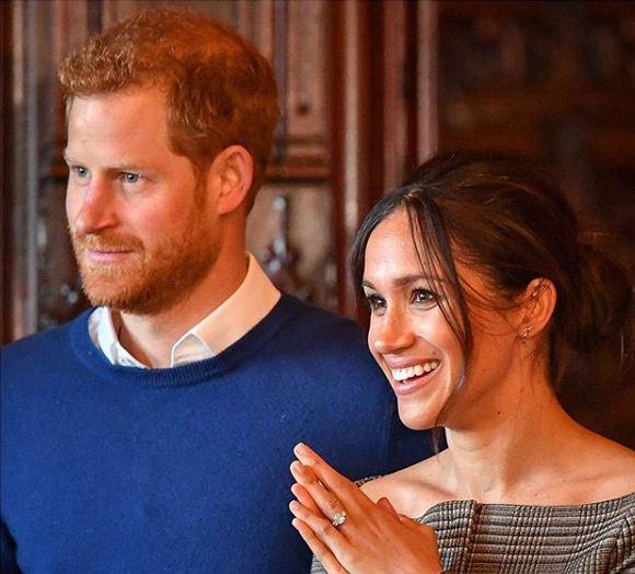 Księżna Meghan i książe Harry