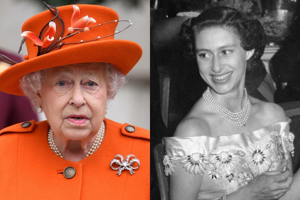 Królowa Elżbieta II z siostrą