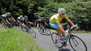 Rafał Majka podczas 14. etapu Tour de France