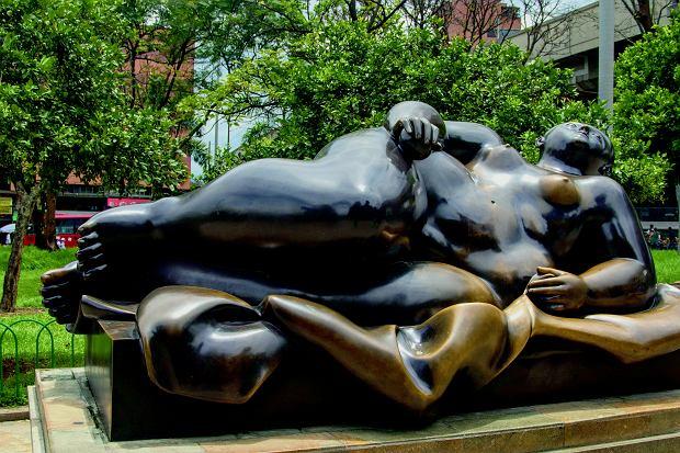 Charakterystyczna rzeźba autorstwa Fernando Botero w Medellin