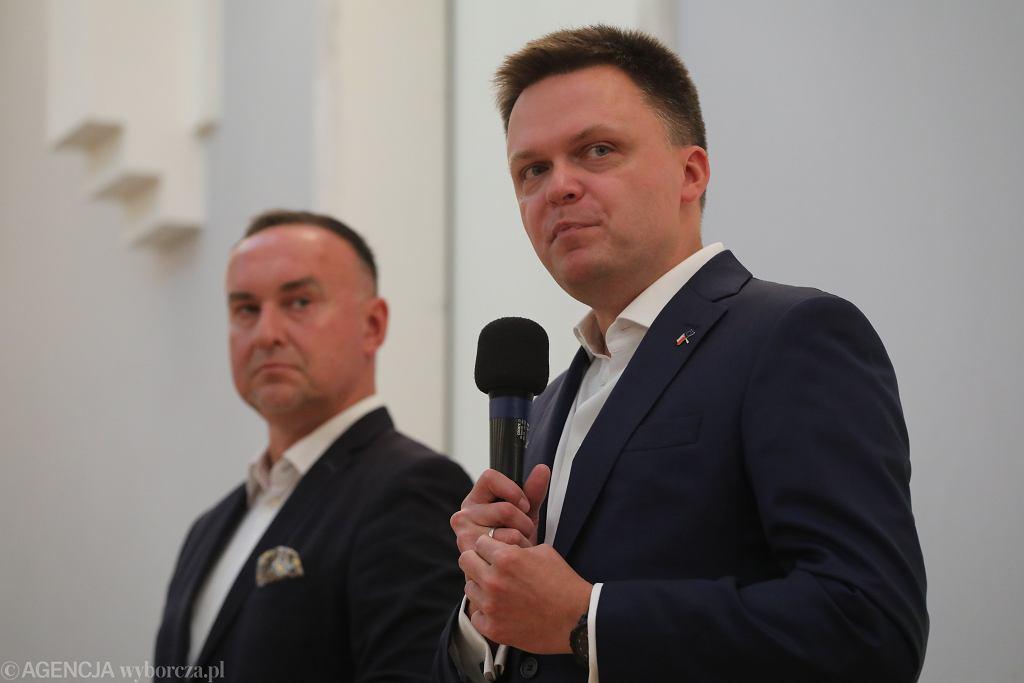 Ruch Polska 2050. Szymon Hołownia i Michał Kobosko.