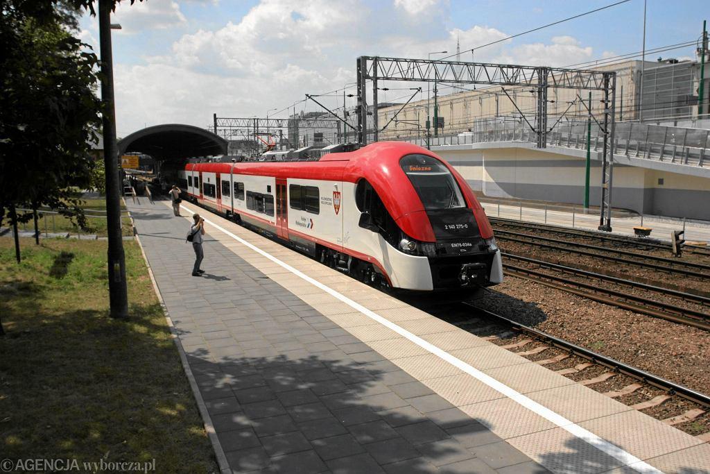 Koleje Wielkopolskie (zdjęcie ilustracyjne)