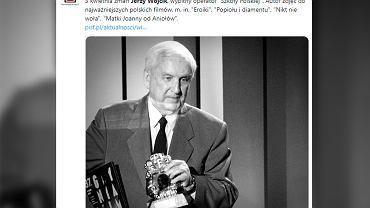 Nie żyje Jerzy Wójcik. Był jednym z najwybitniejszych polskich operatorów