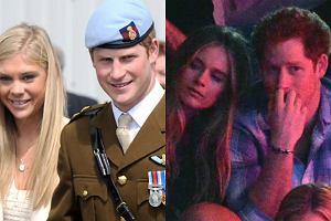 Książę Harry z byłymi dziewczynami
