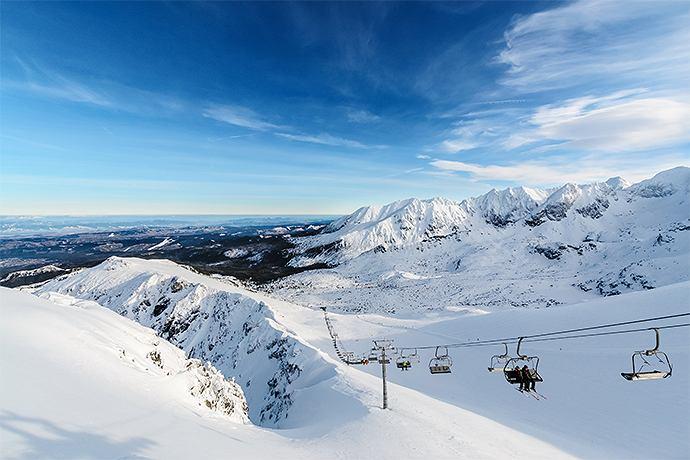 TOP 5 ośrodków narciarskich w Polsce