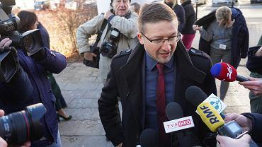 5 lutego 2020. Sędzia Paweł Juszczyszyn przed Sądem Rejonowym w Olsztynie