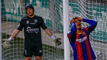 Beast on the field.  He is 21 years old, he plays as a veteran.  Season opening in Barcelona