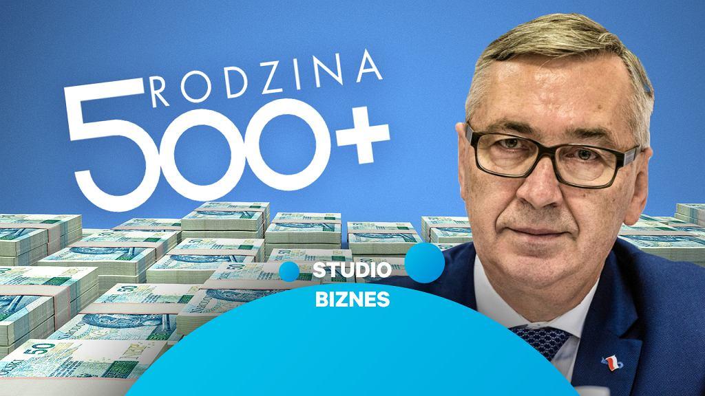 500 Plus i co dalej? Stanisław Szwed, wiceminister rodziny, gościem programu 'Studio Biznes'