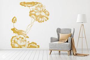 Naklejki na ścianę - sposób na modną metamorfozę