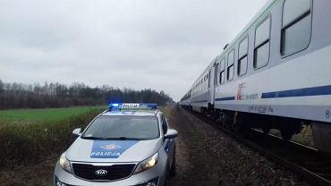 Wypadek na przejeździe kolejowym koło Parczewa