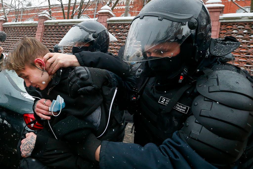 Protesty w sprawie Aleksieja Nawalnego 31 stycznia
