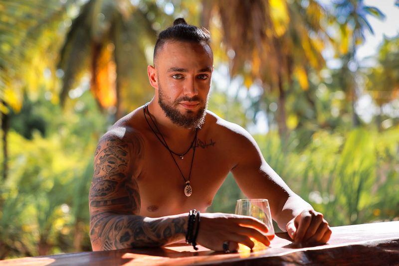 Krystian Ferretti, uczestnik programu 'Hotel Paradise'