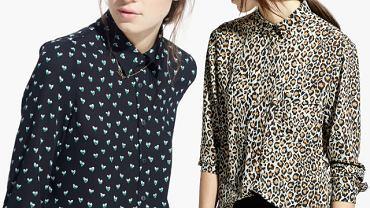Wzorzyste koszule z wiosennych kolekcji