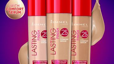 Nowy podkład Rimmel: Lasting Finish 25 HR