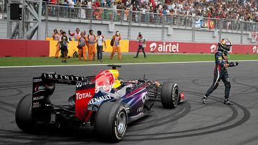 Vettel czwarty raz z rzędu mistrzem świata
