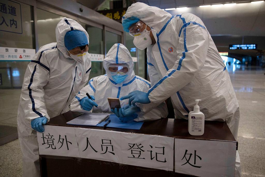 U kilku pacjentów w Wuhan ponownie wykryto koronawirusa