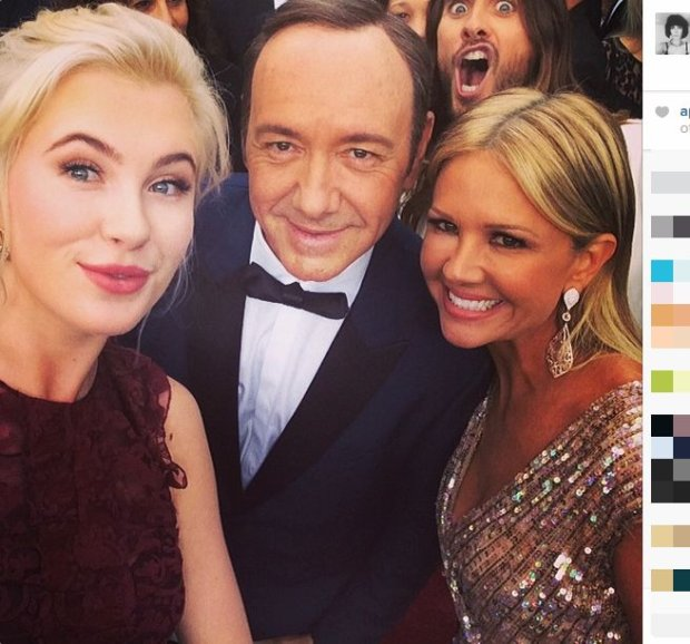 Ireland Baldwin, Kevin Spacey, Nancy O'Dell i Jared Leto