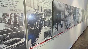 Muzeum Gross-Rosen wystawa czasowa ' Powstanie Warszawskie piosenka i wierszem pisane '