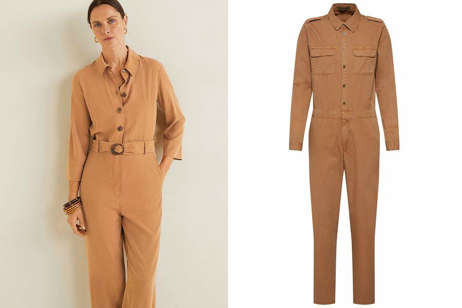 kombinezon roboczy, czyli boiler suit, możesz nosić do sportowych i eleganckich stylizacji