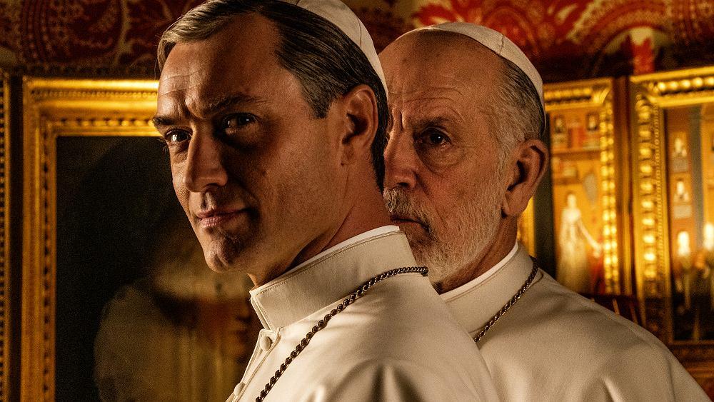 Nowy papież - Jude Law i John Malkowitch