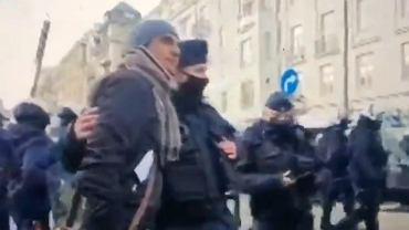 Policjant z Iwanem Komarenką