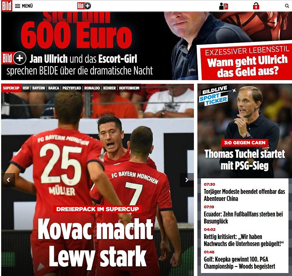 Niemieckie media o Robercie Lewandowskim