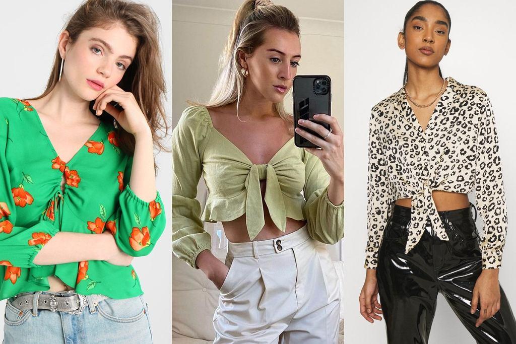 wyprzedaż Topshop: bluzki na wiosnę 2021