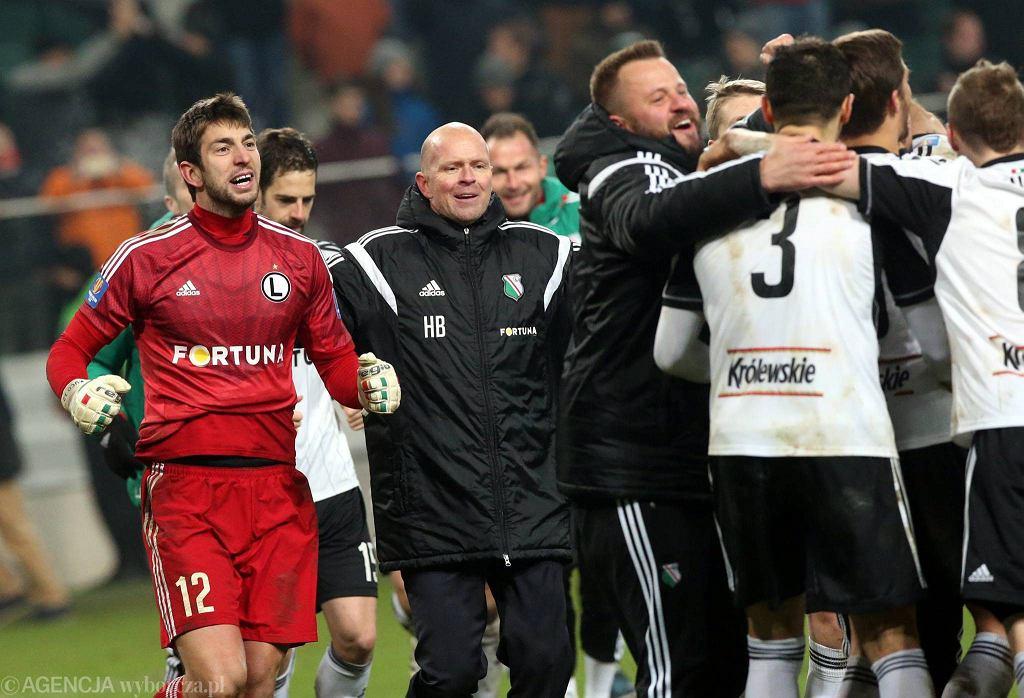 Legia wygrał w PP ze Śląskiem