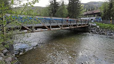 Most na rzece Białka w Łysej Polanie (Tatry) jest w bardzo złym stanie technicznym i wymaga remontu. Słowacy planują go zamknąć