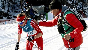 Justyna Kowalczyk i Aleksander Wierietielny
