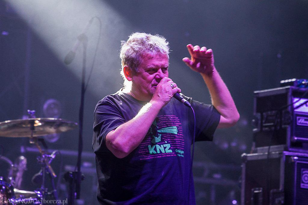 Kazik Staszewski - koncert Kult w ramach festiwali 'Kielce rockują', 16 września 2018