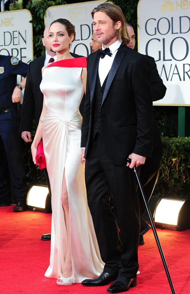 Angelina Jolie i Brad Pitt, 2012 r.