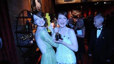 Emma Stone i Julianne Moore