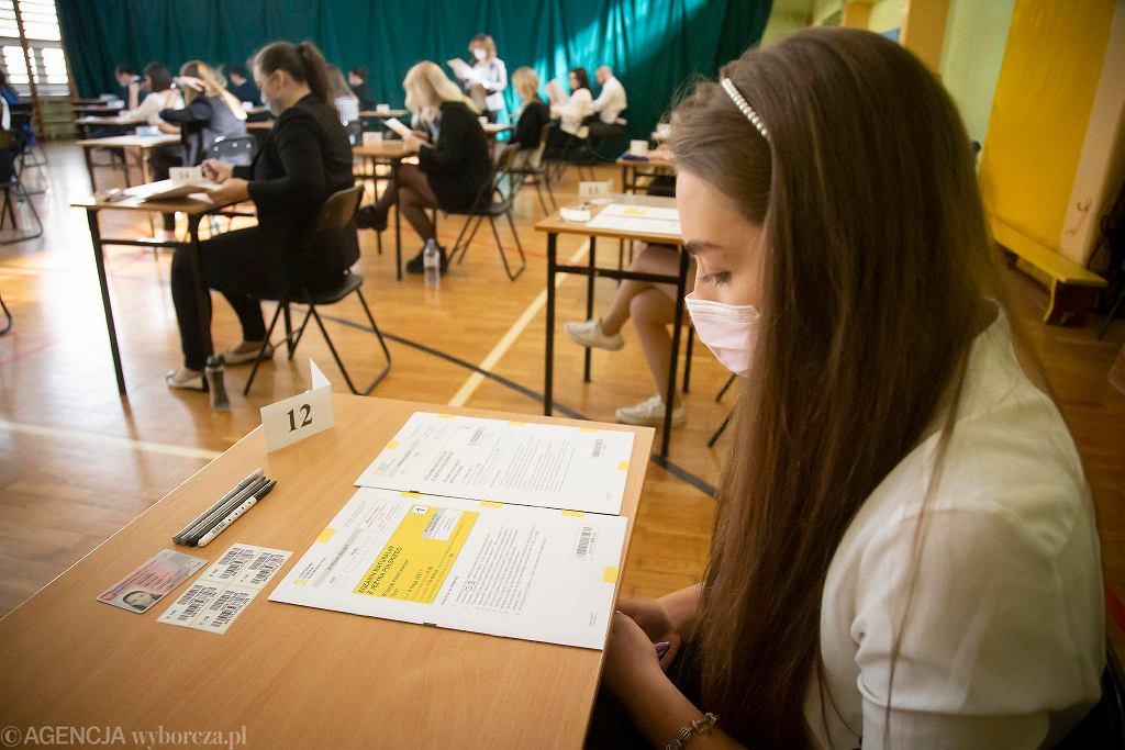 Matura. Egzamin z języka polskiego w IV LO w Białymstoku