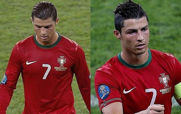 Cristiano Ronaldo Miał Dwie Fryzury Na Jednym Meczu