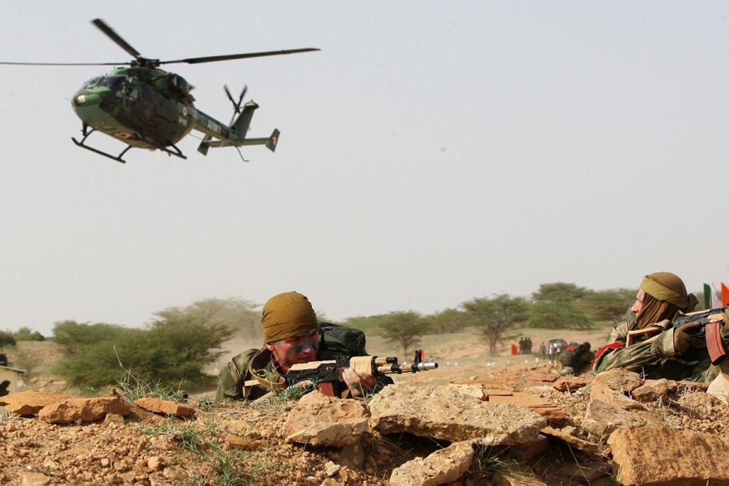 Indyjska armia (zdjęcie ilustracyjne)