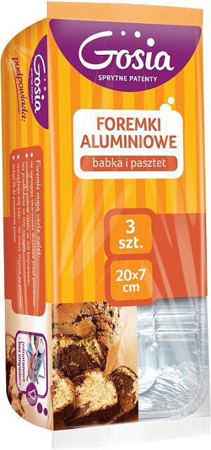 Gosia - foremki aluminiowe - babka i pasztet