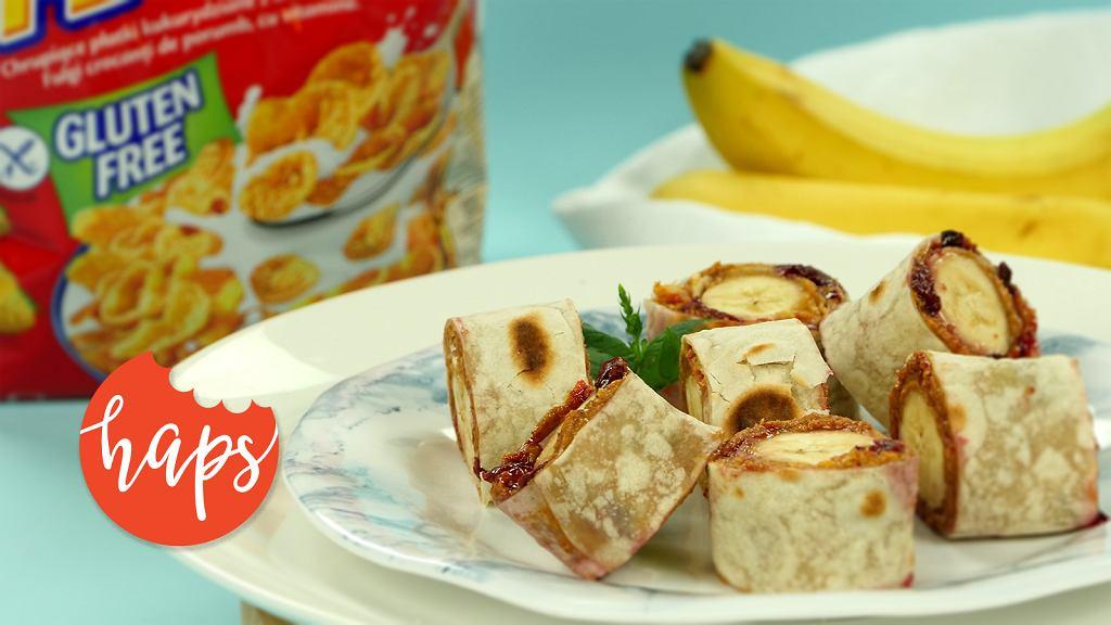 Tortille z bananem Haps