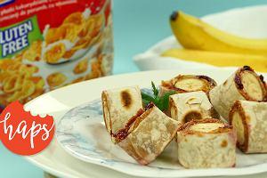 Tortille z bananem i płatkami Nestle CORN FLAKES